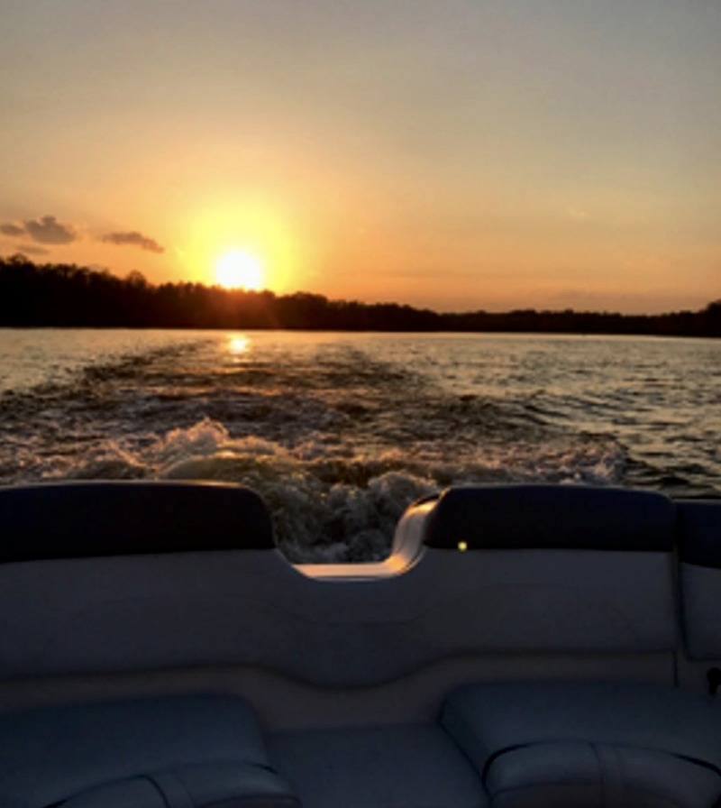 Sunset on Old Hickory Lake